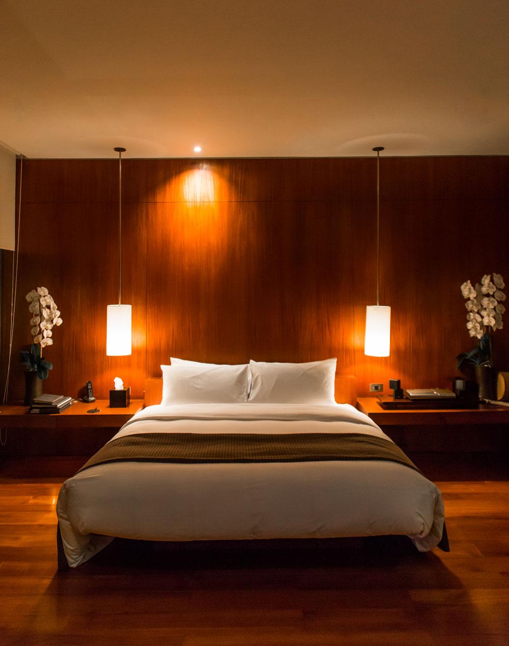 Bedroom at the Villa in The Lalu Sun Moon Lake Taiwan