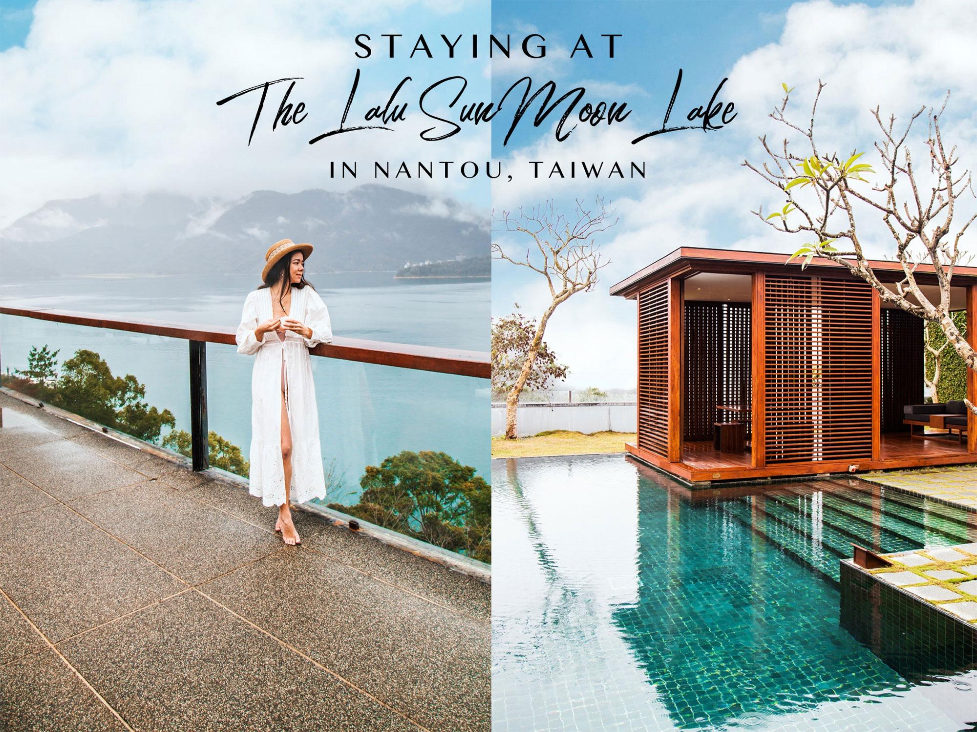 The Lalu Sun Moon Lake Hotel in Nantou Taiwan