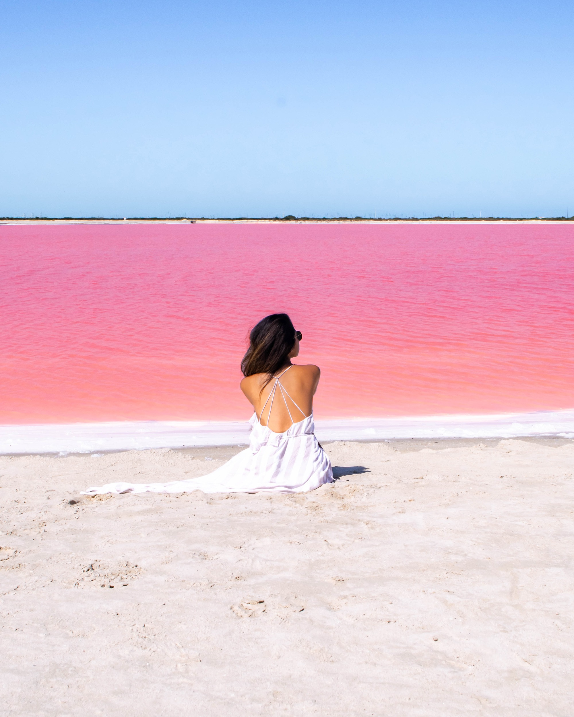 Marcy Yu Las Coloradas Yucatan Mexico Pink lake